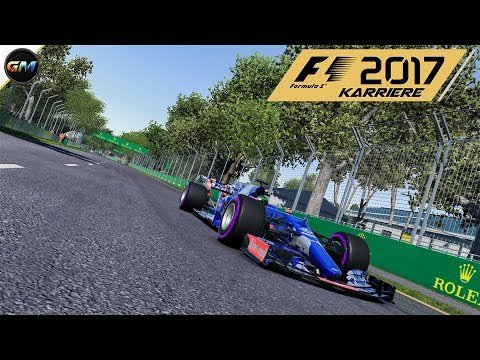 F1 2017 Karriere #2 W1T Rein in die Meisterschaft