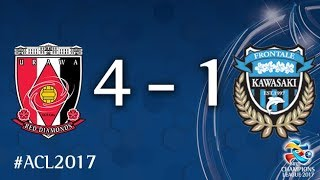 Urawa Red Diamonds vs Kawasaki Frontale (AFC Champions League 2017: Quarter Final - 2nd Leg)