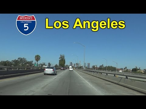 Interstate 5 in Los Angeles, California