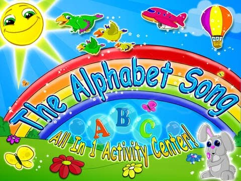 The ABC Song | All in One Educational Activity and Sing Along App For Kids