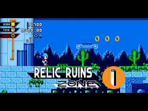 Sonic Mania - Relic Ruins Mod Preview 1 |