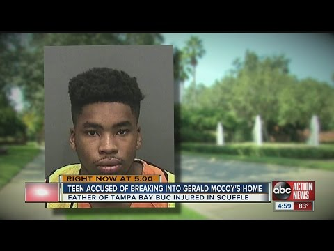 Teen burglarizes Gerald McCoy