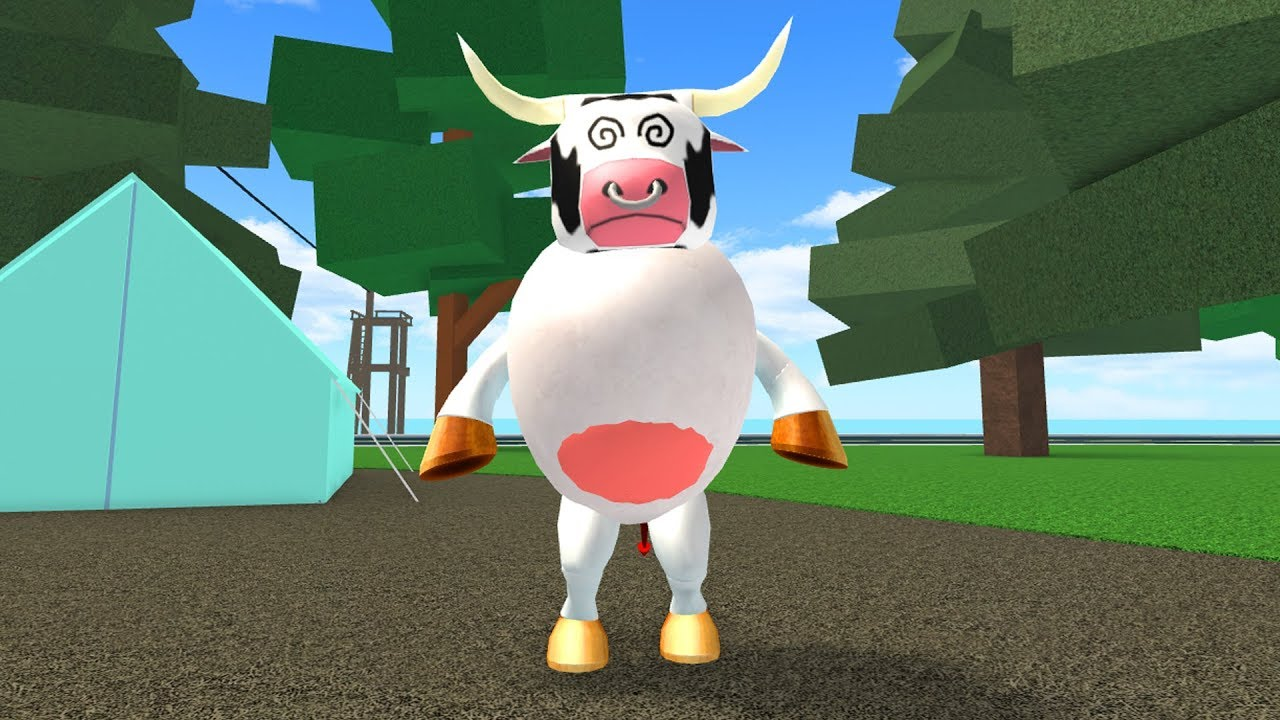 HOW TO BE A GIANT COW ROBLOXIAN HIGHSCHOOL!!