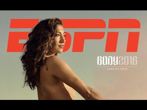 Christen AnneMarie Press featured in the 2016 ESPN The Body Issue