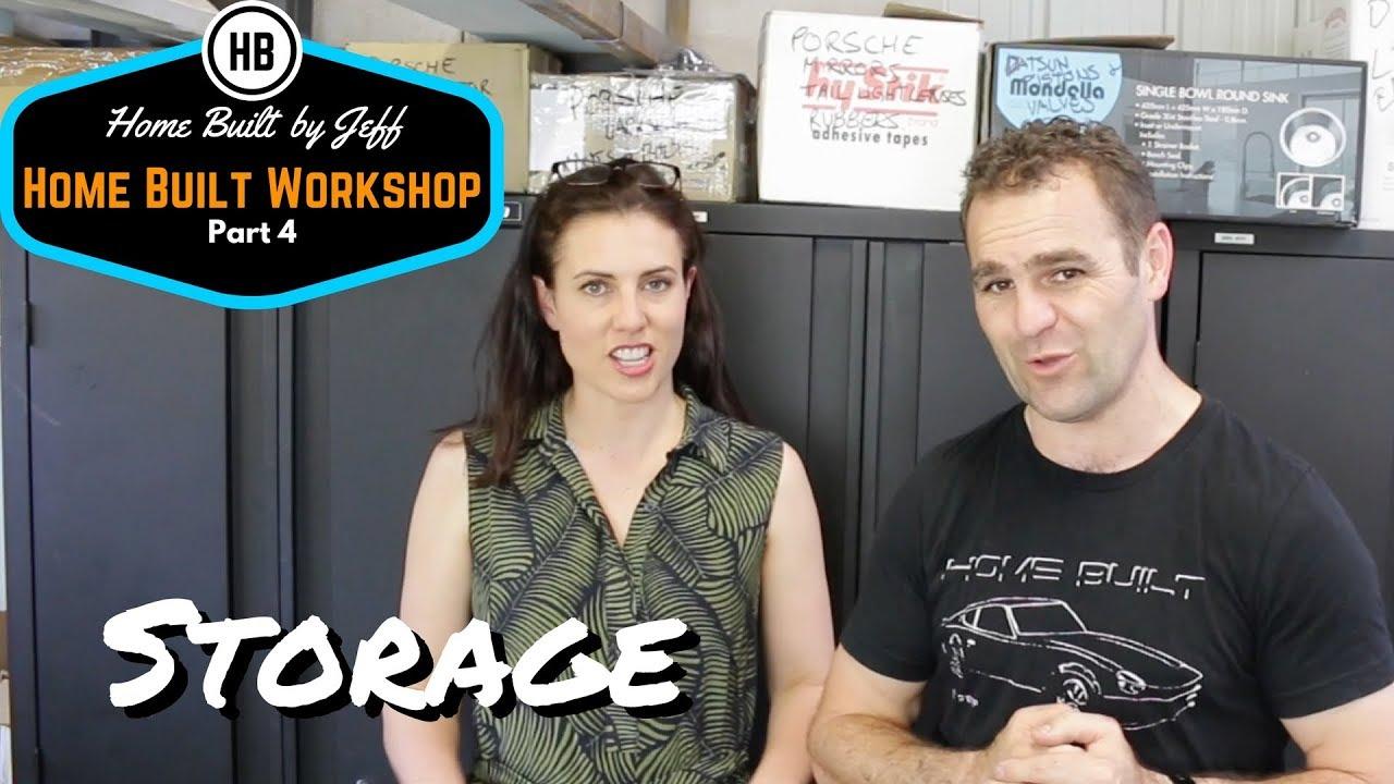 Garage storage ideas - Home Built Workshop 4  sc 1 st  YouTube & Garage storage ideas - Home Built Workshop 4 - YouTube