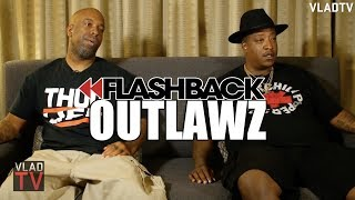 EDI Mean (Outlawz) on Being Behind 2Pac's Car During Vegas Shooting (Flashback)