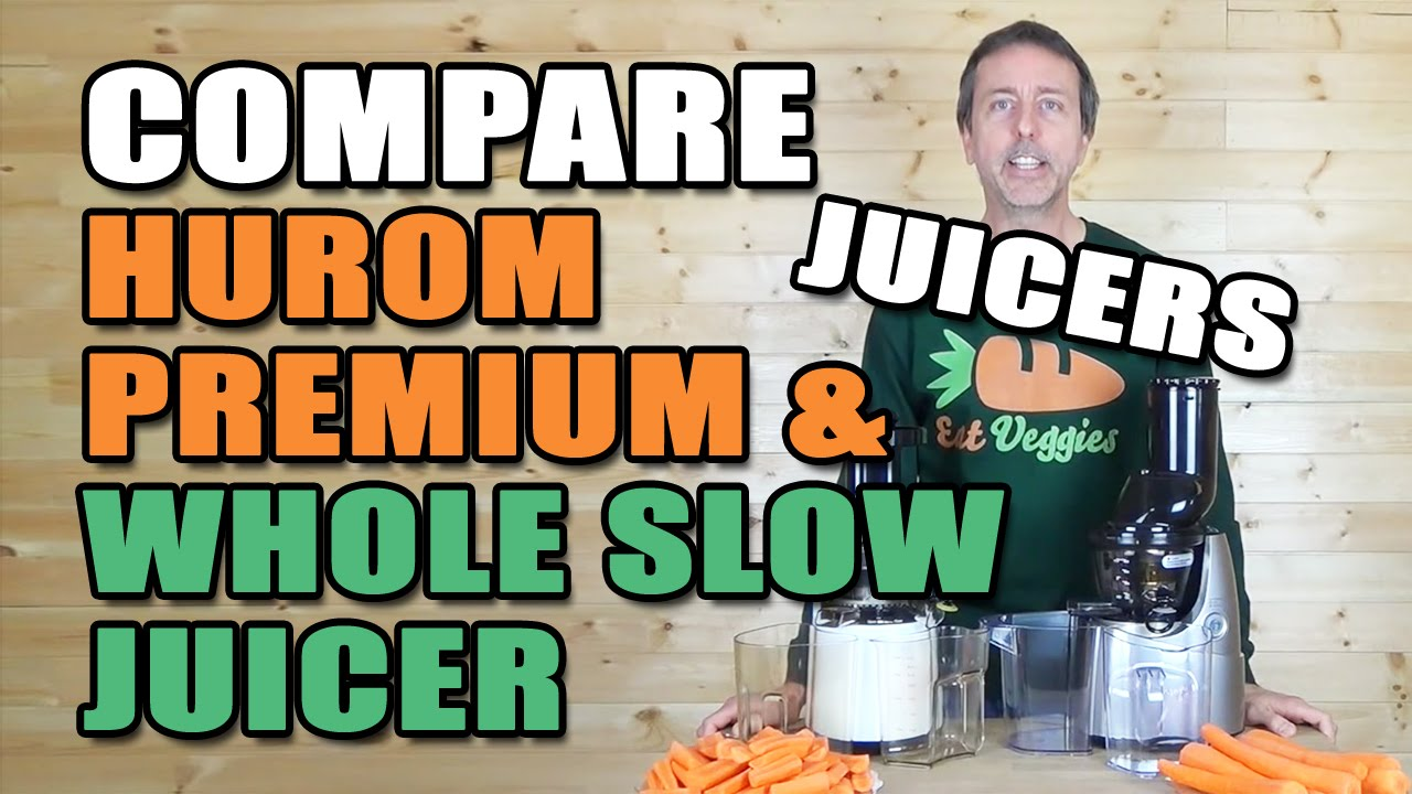 Mayer Whole Slow Juicer Review : Comparison Kuvings Whole Slow Juicer B6000S & Hurom Premium Slow Juicer HH - YouTube