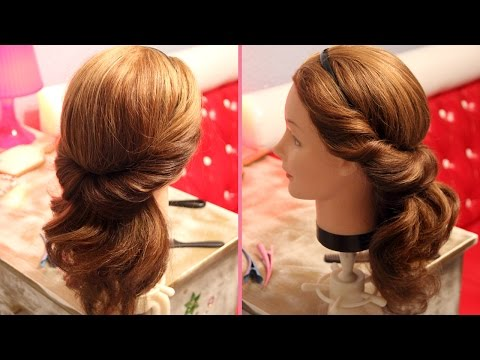 Причёска с повязкой - Hairstyles by REM