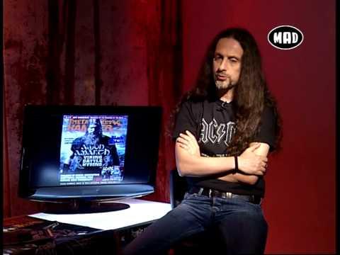 Black Sabbath, Iron Maiden και στο στούντιο ο Κώστας Χρονόπουλος  (TV War 17.6.13)