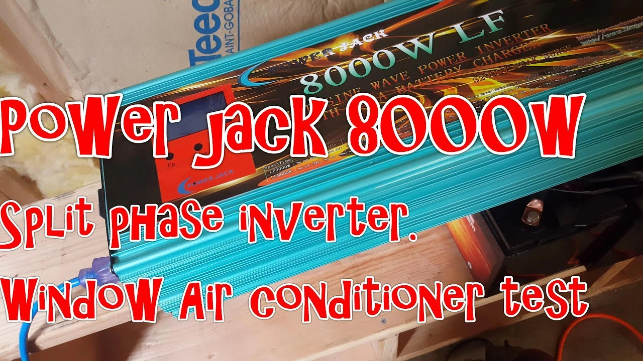 hight resolution of power jack 8kw lf inverter can not start everything