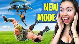*NEW* 50 vs 50 GAME MODE!! (Fortnite Battle Royale)