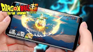 New Dragonball Update! Saiyan Legends - Android IOS Gameplay