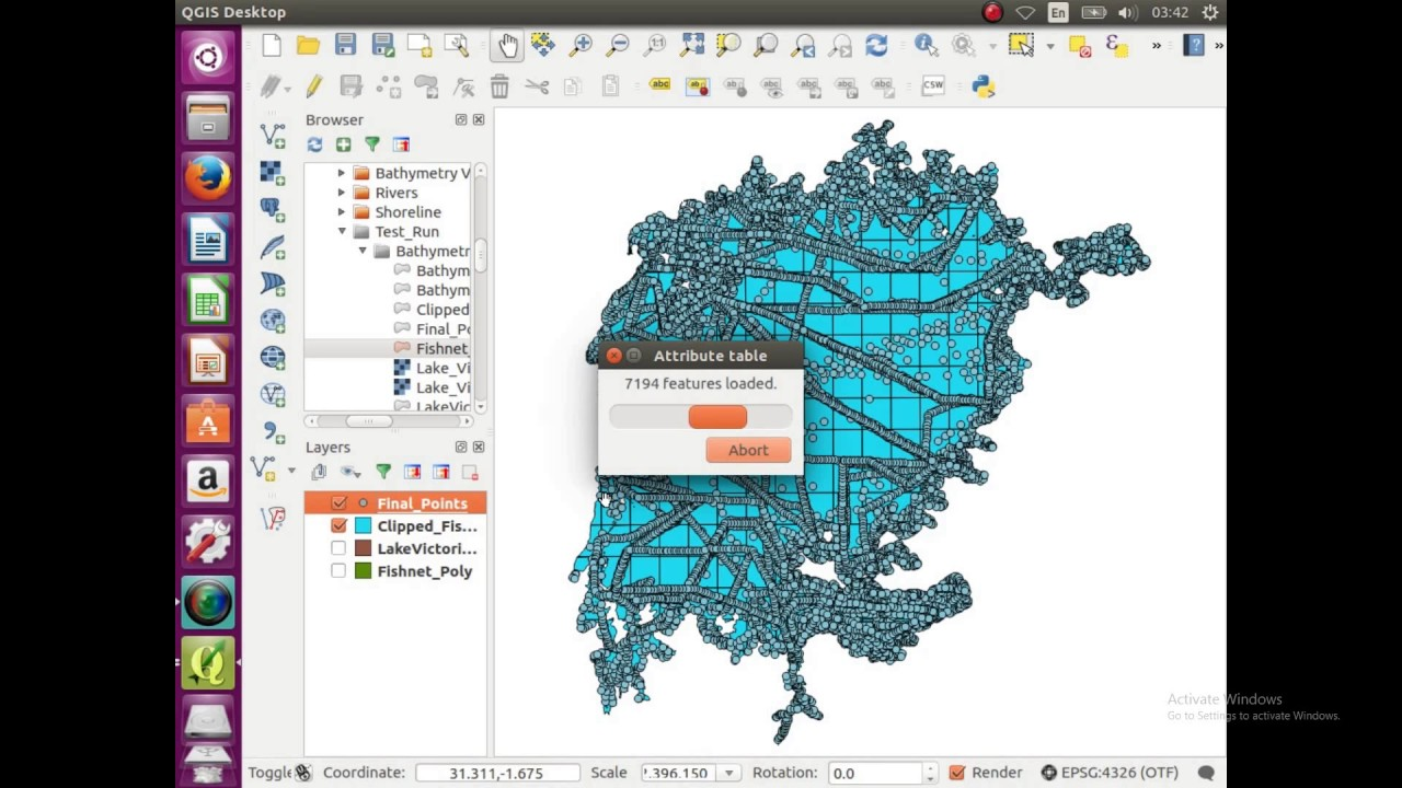 GIS VideoOpen Source Bathymetric Map Of Lake Victoria Africa Part - Lake mapping software