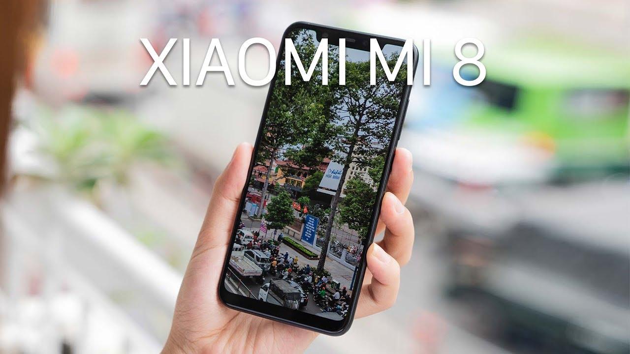 Trên tay Xiaomi Mi 8 giá khoảng 11tr với tai thỏ