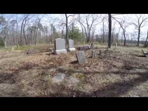Abandoned Places -  Brewer Cemetery In Farmingdale Township Monmouth County New Jersey