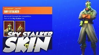 *NEW* SKY STALKER SKIN! Fortnite ITEM SHOP June 21, 2018! Daily Store Items!