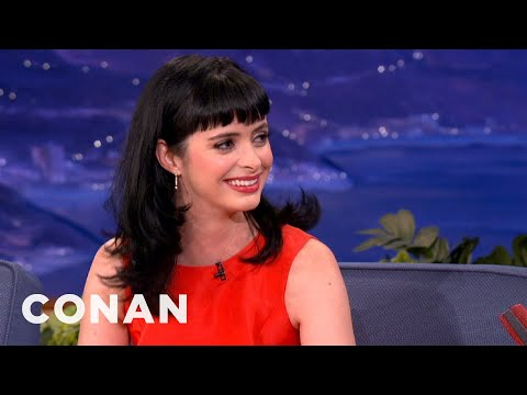 Krysten Ritter Loves Playing The B**** - CONAN on TBS