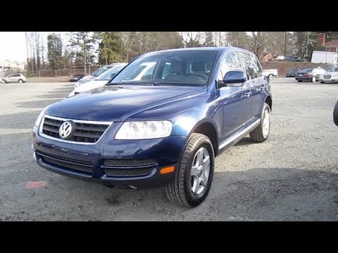 volkswagen touareg  start  engine   depth  youtube