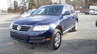 2006 Volkswagen Touareg V6 Start Up, Engine, and In Depth Tour