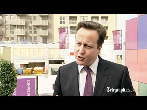 Cameron: NewBuy scheme will 'unblock' housing market