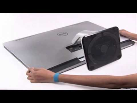 Dell XPS One 2710 Disassembly Process Part 1