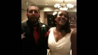 Jerisha and Russell, one of our fun couples married by Alan Katz