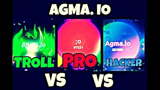 AGMA.IO TROLL vs HACKER vs PRO | Funny edition 2 by Fluffy