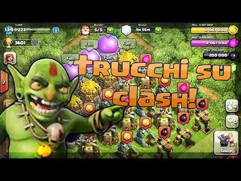 Clash Of Clans ITA: TRUCCHI Gemme/Risorse INFINITE??