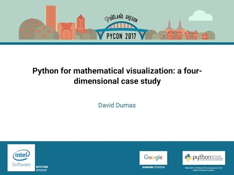 Image from Python for mathematical visualization: a four-dimensional case study