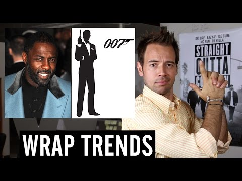 Idris Elba 'Too Street to Play James Bond' Backlash Leaves Internet Shaken and Stirred: Wrap Trends