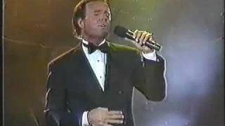 JULIO IGLESIAS - LIVE - EVERYTIME WE FALL IN LOVE - THE PRESIDENTIAL INAUGURAL GALA - USA - 1989 -
