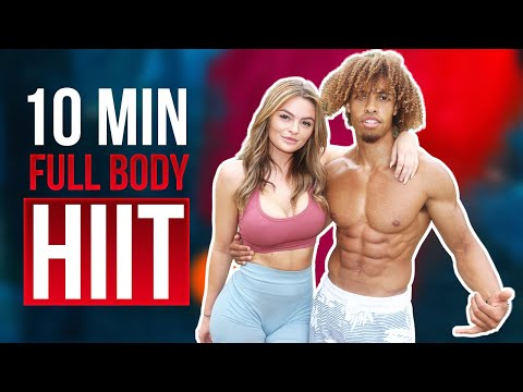 10 Min Full Body Abnormal HIIT Workout Burn Fat Fast No Equipment Needed #3
