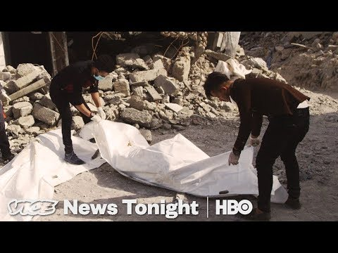 Mosul Body Collectors & YouTube Bans Guns: VICE News Tonight Full Episode (HBO)
