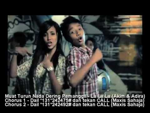 LA LA LA (LAGU TEMA ELLY DAN EPIT) -- Akim dan Adira (Official Music Video)