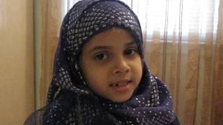 6 year laam recites surah munafiqoon surah 63