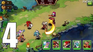 Magic Rush: Heroes Android IOS Gameplay Walkthought #4 - 1. St Debiya [Elite]