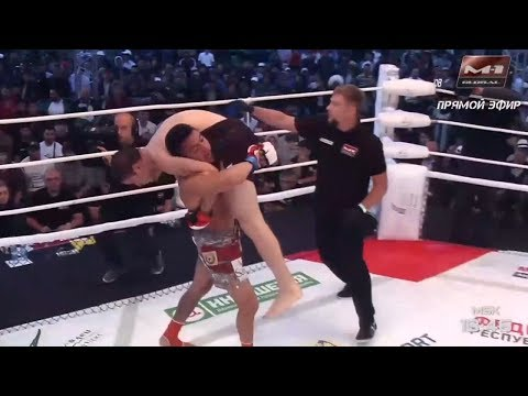 Рафаэль Диас vs Мовсар Евлоев highlights, M-1 Challenge 95