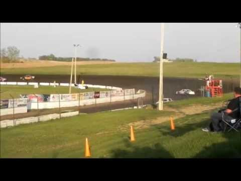 Hobby Stock Heat 2 - I90 Speedway 5-2-15