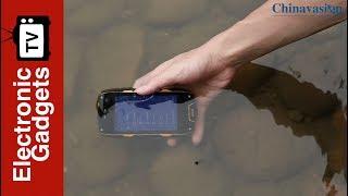4 Inch AGM A7 Rugged Phone Waterproof IP68 Rugged Smartphone