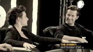 The Hobbit: The Desolation of Smaug - Cast Interview Elvish (Cinemax)