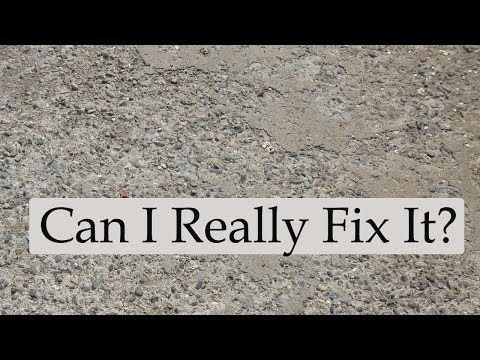 Watch This Video Before Repairing or Refinishing Concrete Ga