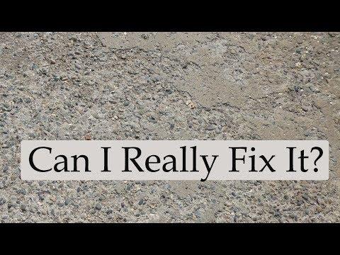 Watch This Video Before Repairing or Refinishing Concrete Garage Slab