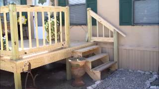 Deck Built With Nail Gun Hubby Received For Father