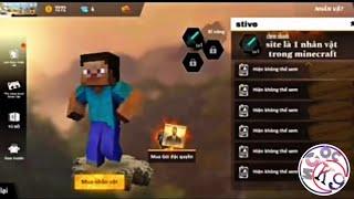 Tik Tok Free Fire | Khi Nhân Vật Minecraft Gia Nhập Free Fire  | Ngọc K9