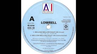 Lowrell - Mellow Mellow Right On (Max Beckmann Edit)