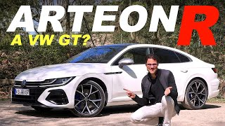 The sexiest VW ever? Volkswagen Arteon R GT 320 hp AWD REVIEW