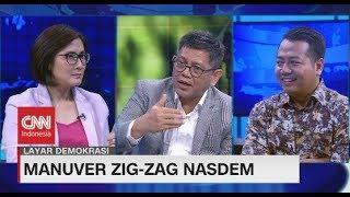 Manuver Zig-Zag Nasdem #LayarDemokrasi