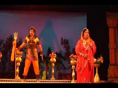 Lakshmi Sridhar & Hema as Mandodari & Sita-Prachanda Ravana drama vol-1