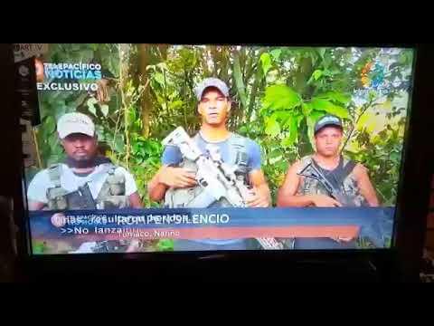 Hablan los disidentes de las FARC en Tumaco