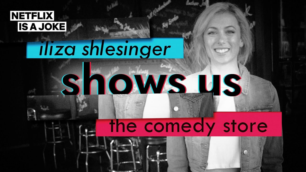 Iliza Shlesinger's Backstage Tour of the Comedy Store